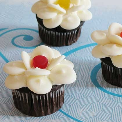 Disney Flower Cupcakes