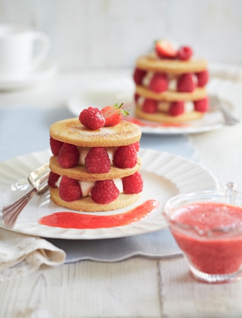 Mixed Fruit Shortbread