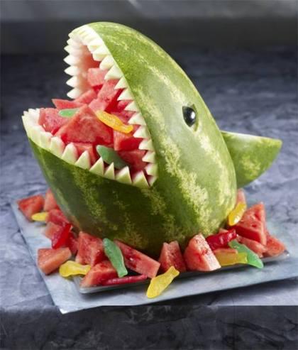 Melon Shark Party Centrepiece