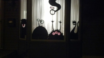 Monsters in Window