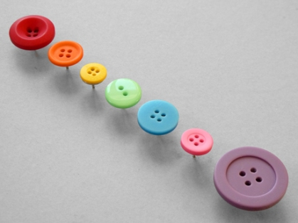Button Pushpins