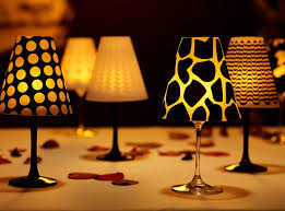 Wine Glass lampshade
