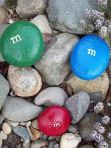 M&M pebble