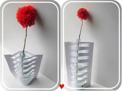 DIY Paper Vase