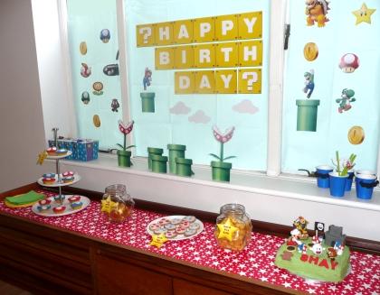 Super Mario Party Backdrop
