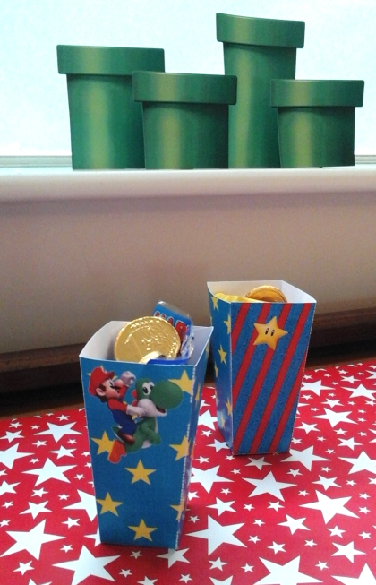 Super Mario Favour Boxes